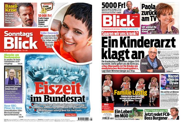 Schweizer Zeitung Blick