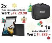 Am 1. Dezember ein Android Tablet und zwei Reisetaschen gewinnen.