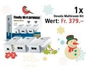 Am 6. Dezember ein Devolo Multiroom WiFi Kit gewinnen.