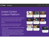 Scope fokussiert auf das B2B-Geschäft und stellt kuratiertes Portal ab