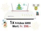 Am 15. Dezember eine FRITZ!Box 6890 LTE gewinnen