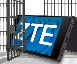 ZTE hinter Gittern