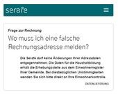 Billag-Nachfolger Serafe macht Adress-Puff!