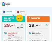 UPC bietet ab sofort unlimitierte Mobile-Abos an