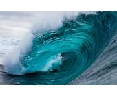 Blue Ocean Wave