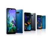 LG K60, Q50 und Q40 (v.l.n.r.)