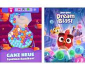 Angry Birds geraten mit Dream Blast auf Abwege