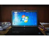 Notebook mit Windows 7