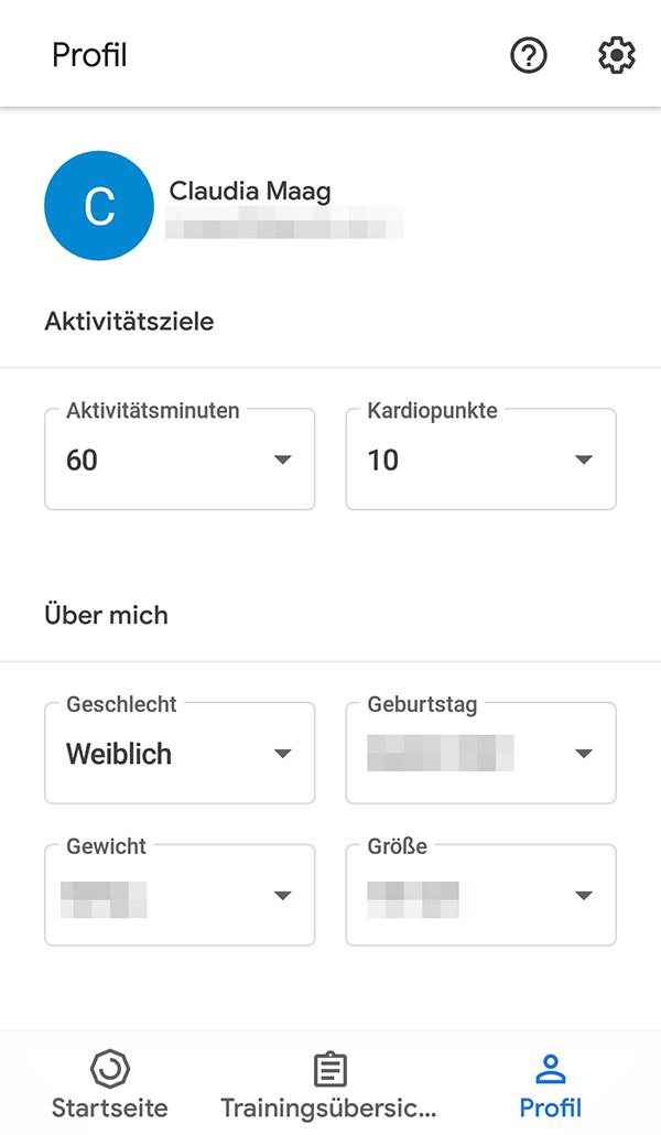 So holen Sie das Maximum aus der Google-Fit-App heraus