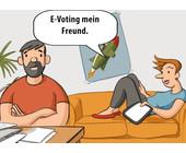 Post setzt ihr E-Voting-System befristet aus