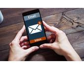 E-Mail-App am Smartphone
