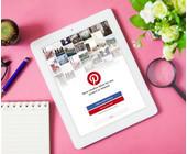 Pinterest App auf dem Tablet