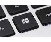 Windows-Logoa auf Tastatur