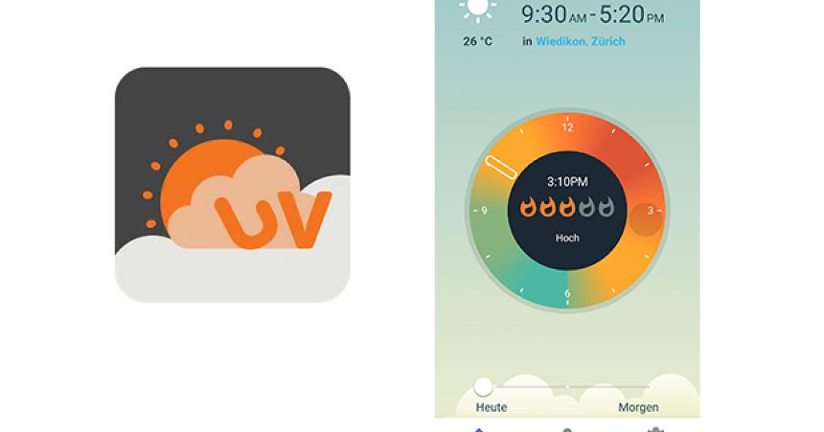 App-Test-UVLens-UV-Index-Voraussage