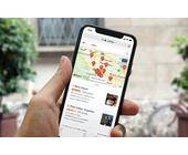 DuckDuckGo-Karten-App auf dem Smartphone