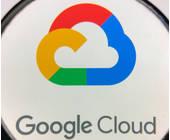 Google-Cloud-Logo untder der Lupe