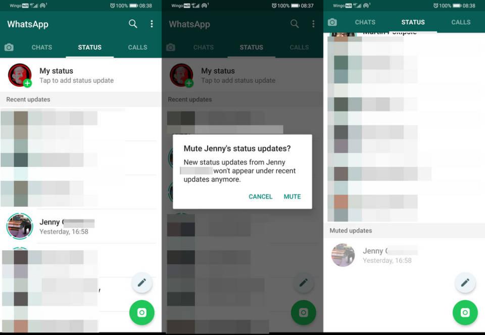 So Statusmeldungen Bei Whatsapp Verbergen Onlinepcch