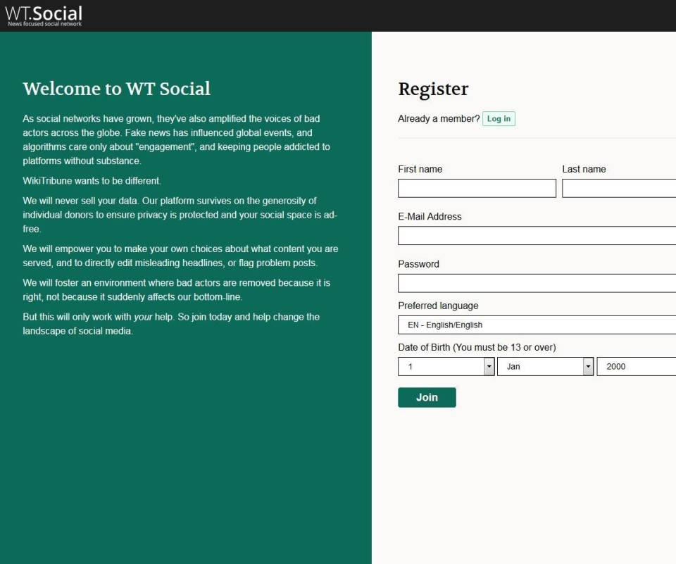 Soziales Netzwerk Von Wikipedia-Gründer Hat 500.000 Nutzer