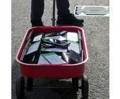 Mit 99 Smartphones in einem Bollerwagen narrte Simon Weckert den Kartendienst Google Maps