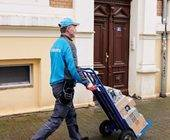 Paketbote von Hermes