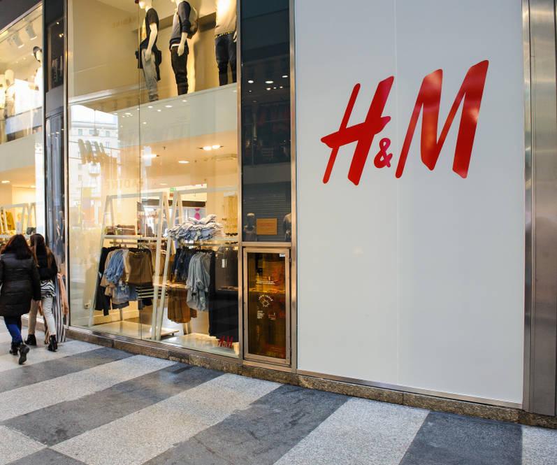 H&M Umkleidekabine Corona