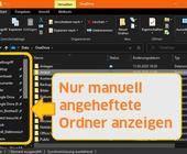 Ordner im Schnellzugriff von Windows 10