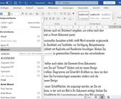 Screenshot Schriftartenliste in Word