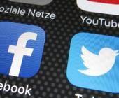 Apps auf Smartphone: Facebook, Twitter, Youtube