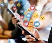 Social Media Reaktionen Emojis