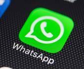 WhatsApp App auf Smartphone