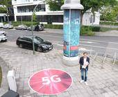 Litfaßsäule mit 5G