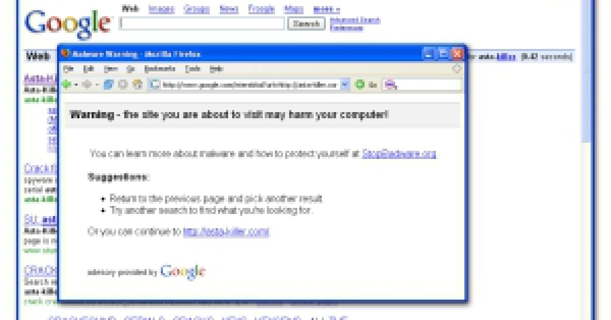 Google Warnung Vor Viren