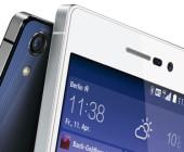 In Paris hat der chinesische Hersteller Huawei sein neues Topmodell Ascend P7 vorgestellt. Es kommt mit einer 8-MP-Frontkamera, 6,5 Millimeter dünnem Gehäuse und 1,8-GHz-Quadcore-CPU.