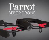 Der Drohen-Spezialist Parrot stellt mit dem neuen Modell Bebop eine kompakte Kameradrohne mit Full-HD-Unterstützung vor. Die Bebop wird wahlweise via Smartphone, Tablet oder der Oculus Rift gesteuert.