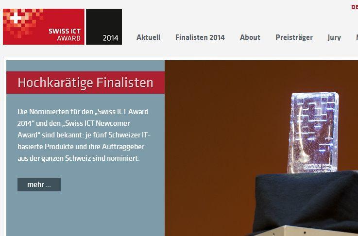 Zehn hochkar tige nominationen auserkoren for Ict schweiz