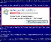 Ein Windows-Update des letzten
