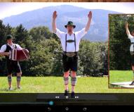 iPlattl - Schuhplatteln lernen - Mit dieser App erlernen Sie Schritt für Schritt den bayerischen Traditionstanz. Rein in die Lederhosen und losplatteln. Preis: 0,99 Euro. Erhältlich für Android und iOS.