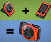 Casios neue Kamera hat eine zweigeteilte Persönlichkeit. Die eigentliche Kamera ist von der Steuereinheit abtrennbar und macht so auch Fotos per Remote-Verbindung.