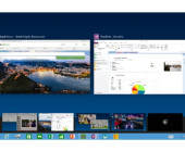 Das neueste Build der Technical Preview von Windows 10 bietet verbesserte Multi-Monitor-Funktionen