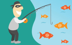 Phishing Attacke Comic