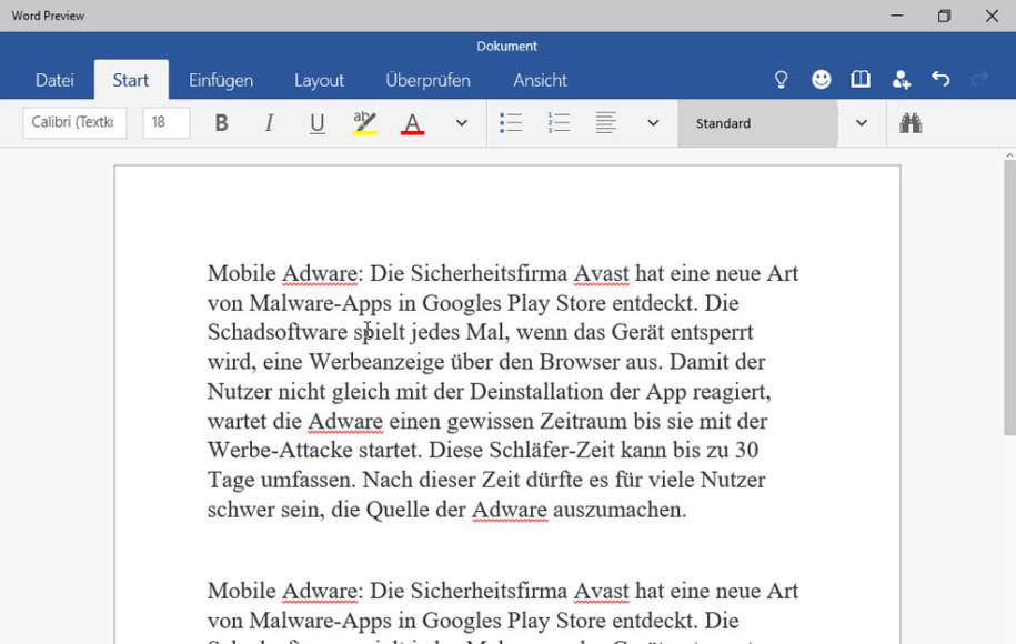 Word, Excel, Powerpoint für Windows 10 - onlinepc ch