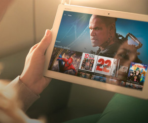 Sony Z4 Tablet Filme anschauen