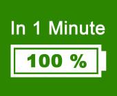 Akku Symbol 100 Prozent