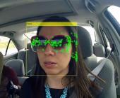 Autofahrer Gesicht-Tracking