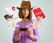 Online-Shopping via Smartphone