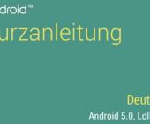 Android-Lollipop Kurzanleitung