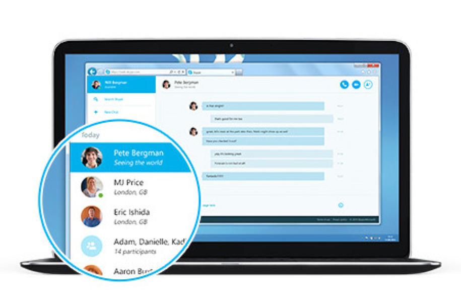 Skype Im Browser
