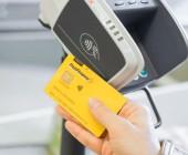 Kontaktlosfunktion für schnelleres Bezahlen