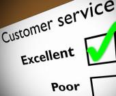 Bewertung des Kundenservice