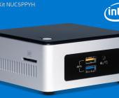 Intel NUC NUC5PPYH Mini-Barebone-PC
